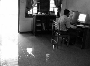 Flooded Office indi.ca