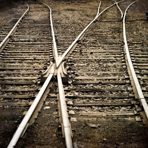 Creative Commons railway tracks by gfpeck_Flickr