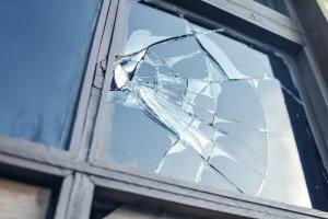 Broken window_Image used under license from Shutterstock