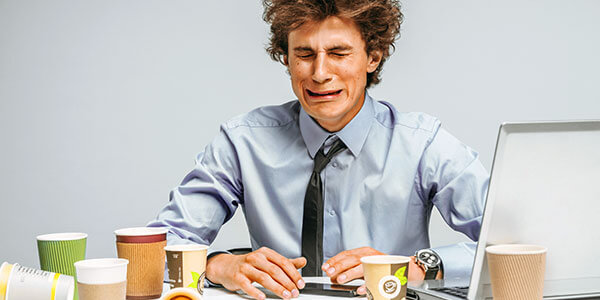 impact of long hours and stress for IT professionals - ways to cope