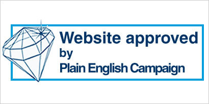 The Crystal Mark from the Plain English Campaign marks out jargon-free websites from the rest