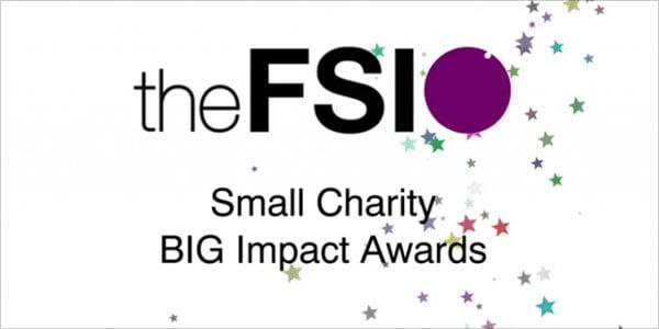 The FSI Big Impact awards big up small charities