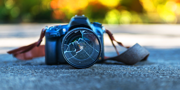 Photography equipment insurance pays for repairs or replacement if your camera's crocked.