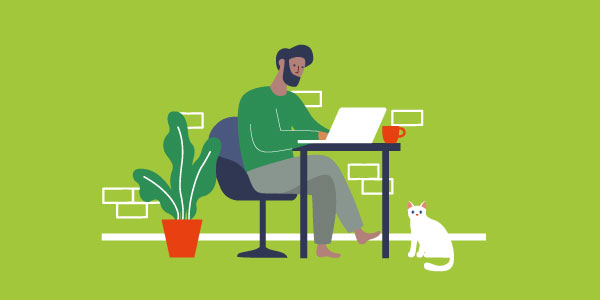 Working from home cyber risk